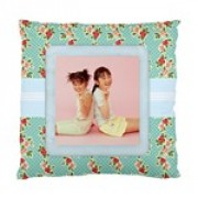 Floral Fest Cushion Pillow Artscow Template