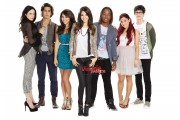 Victoria Justice,Elizabeth Gillies,Ariana Grande, Daniella Monet - Victorious Promo Shoot  Outtakes x4 Tagged UHQ